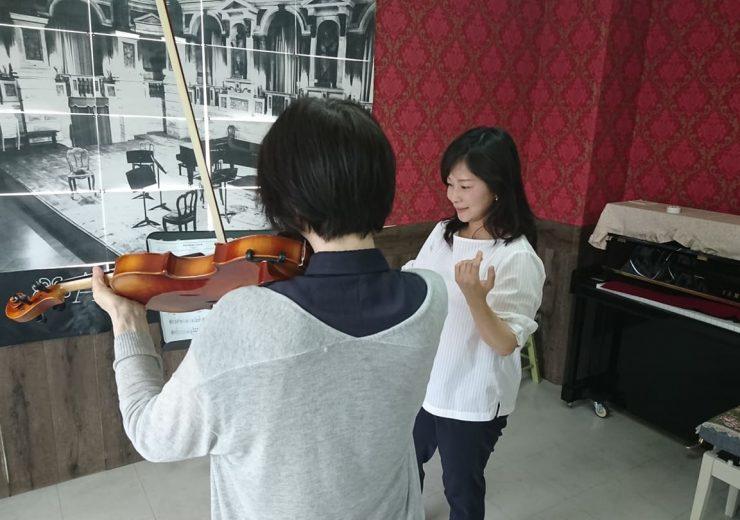ヴァイオリン受講生